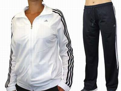 survetement adidas femme noir et argent 4889e156978